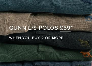 Shop Long Sleeve Gunn Polo
