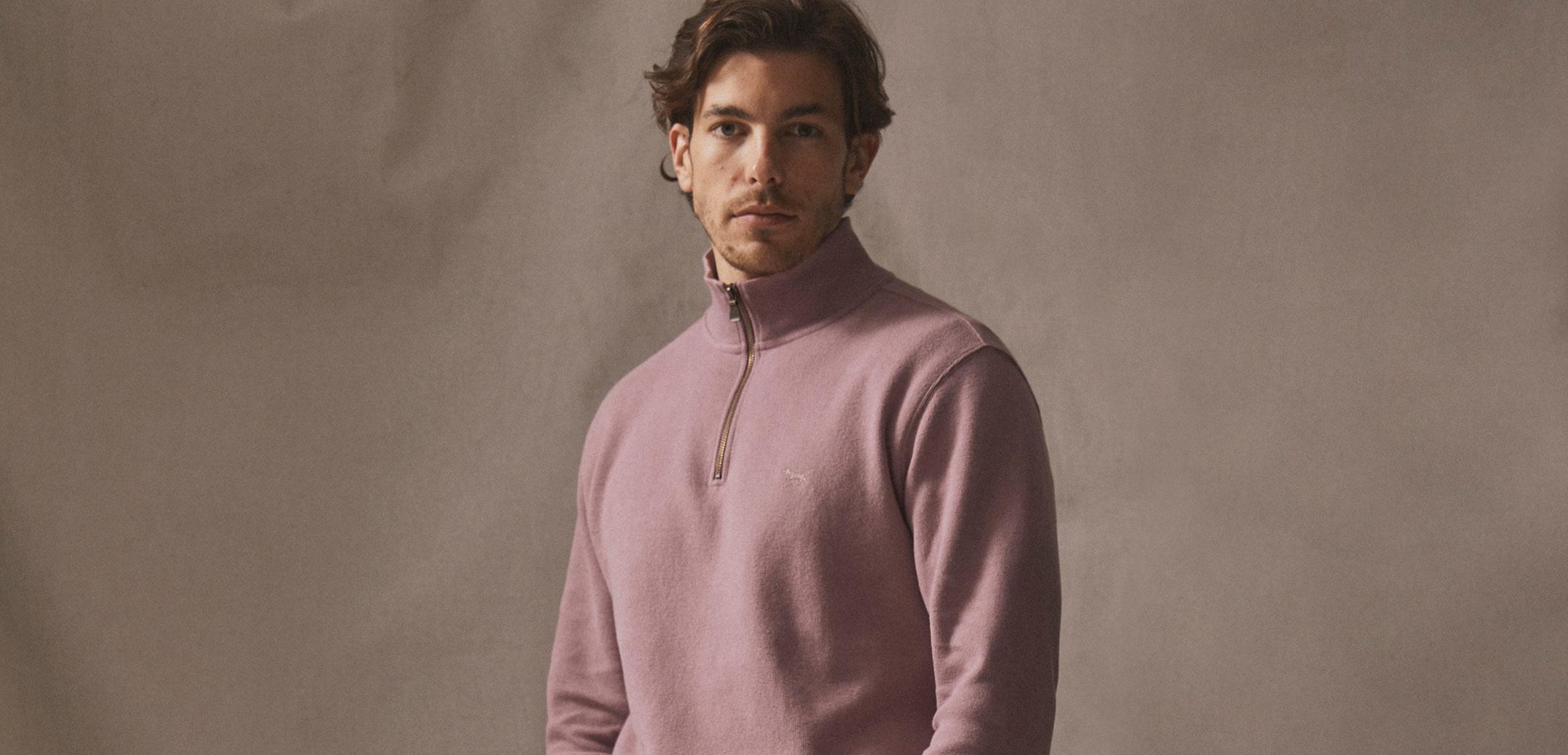 Gunn Zip Sweatshirts