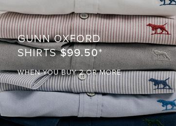 Shop Gunn Oxford Shirts
